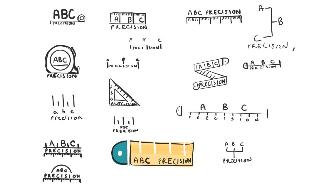 Abc Initial Sketches