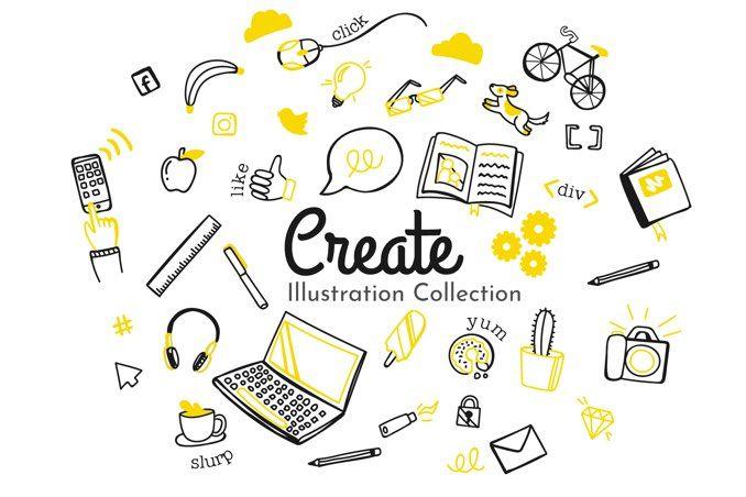 Create Illustration Collection
