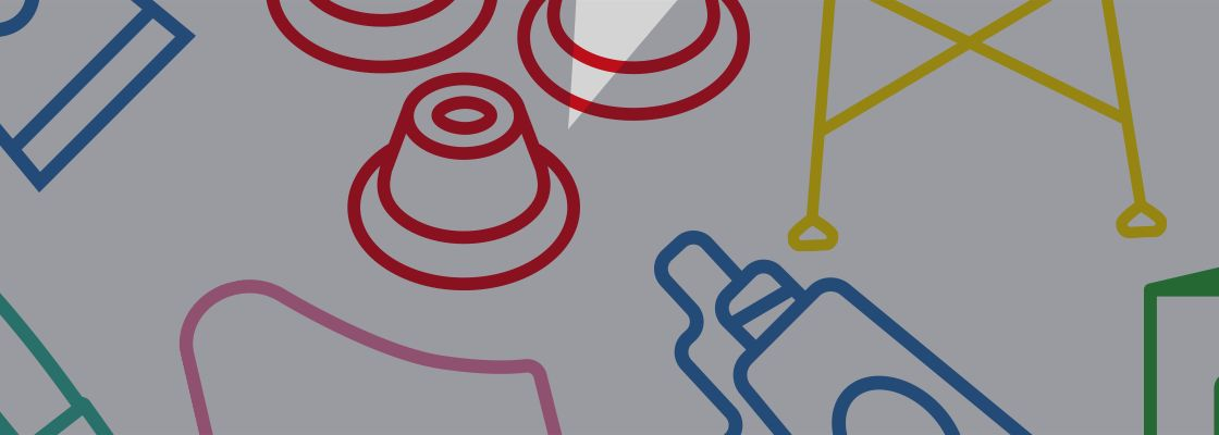 Design Illustration Eames Revival Icons Banner