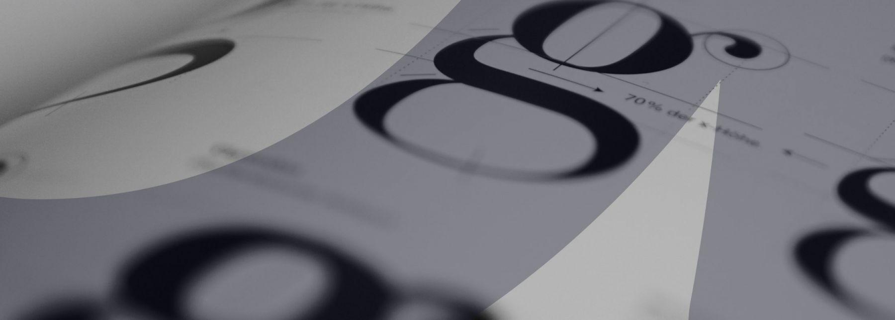 Typography Header Image