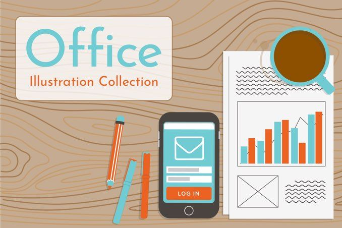 Office Illustration Collection