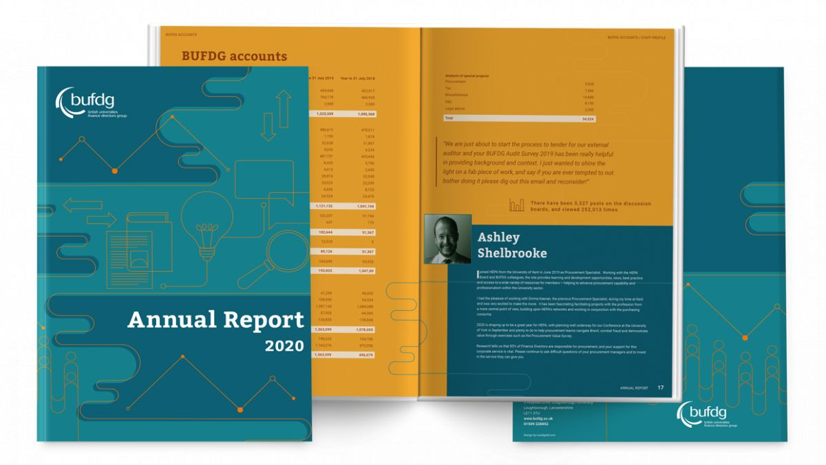 Bufdg Report Layout And Covers