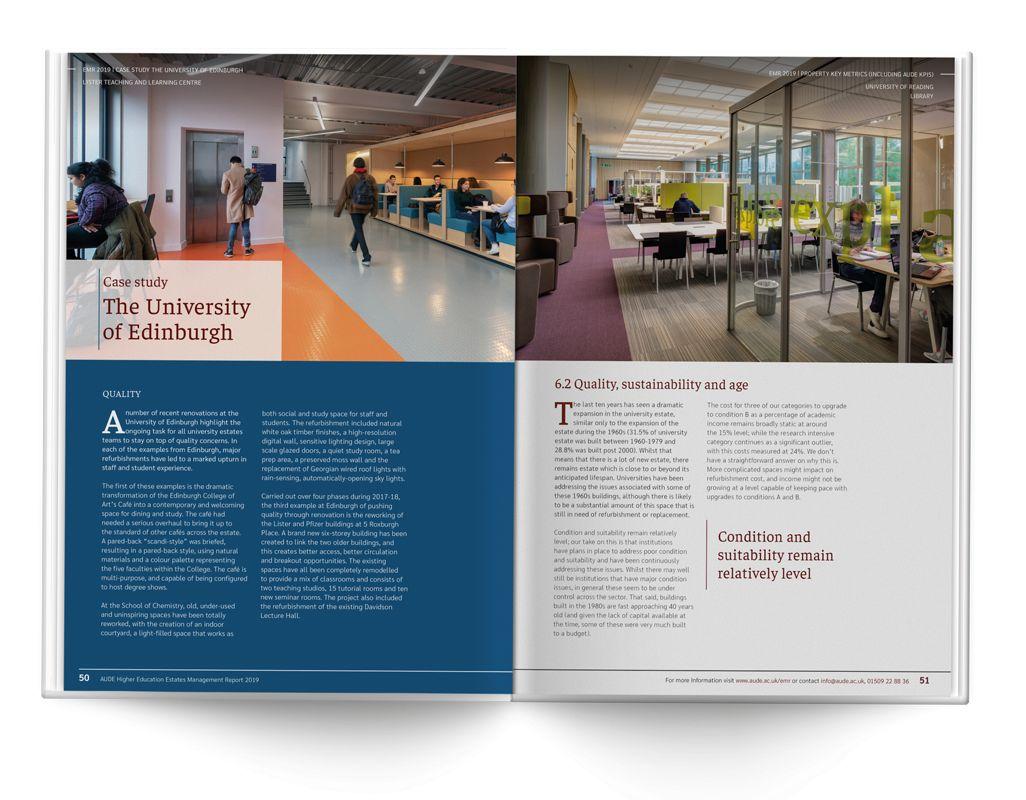Aude Annual Report Spread