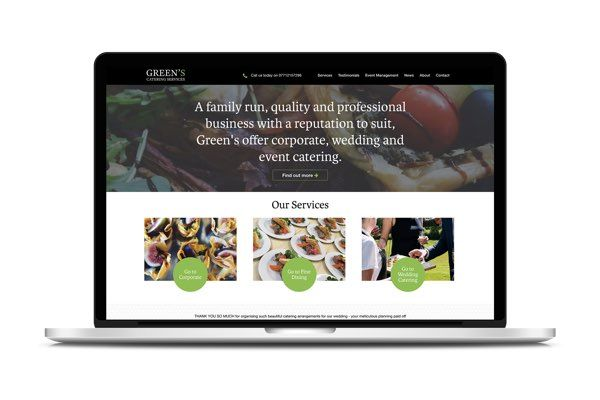 Greens Catering Image 1