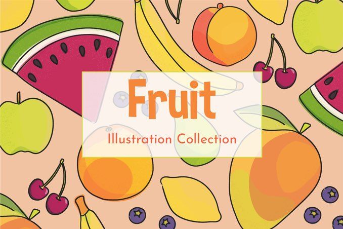 Fruit Illustration Collection