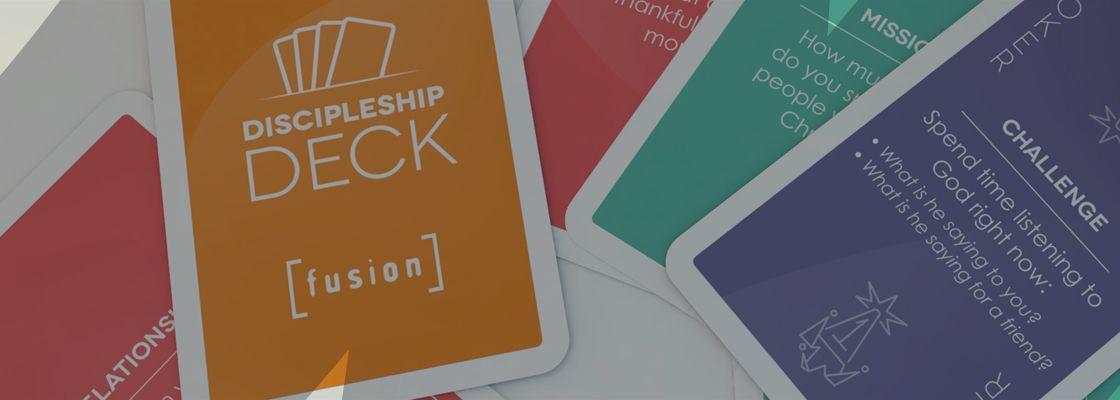 Design Print Fusion Discipleship Deck Banner