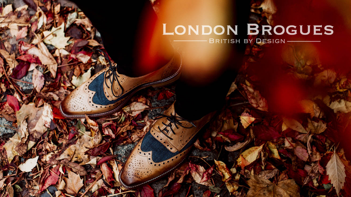 London Brogues –British by Design