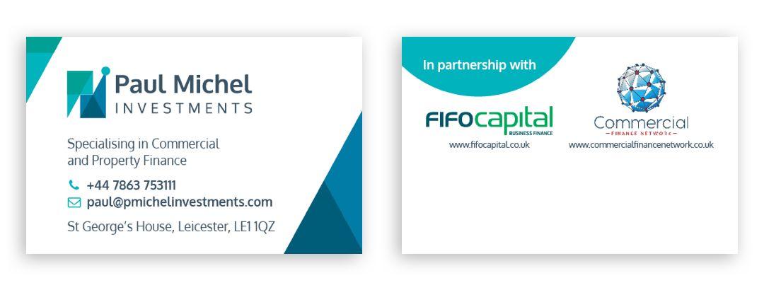 Paul Michel Business Cards