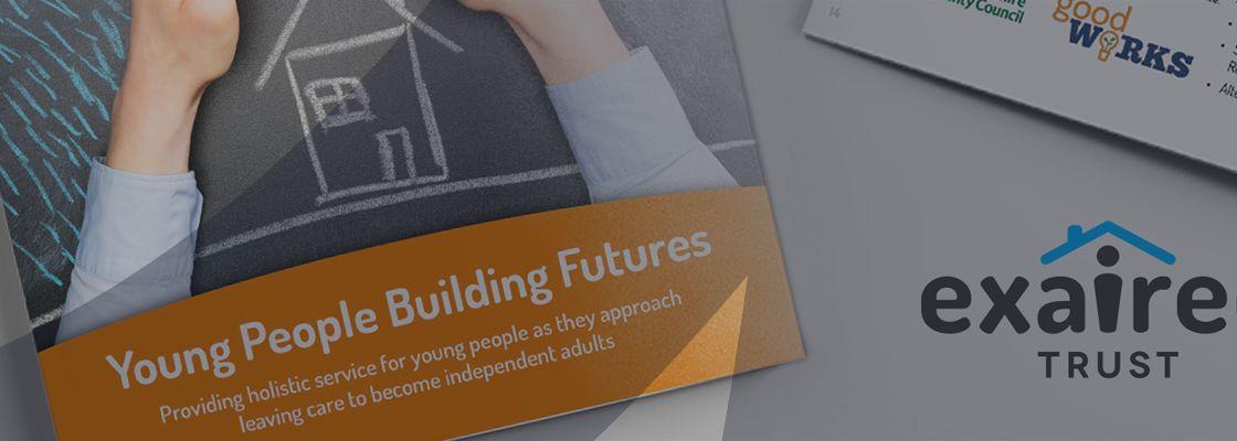 Design Print Exaireo Brochure Banner