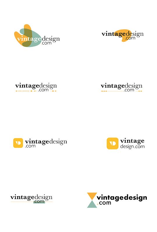 Vintage Design Logo Concepts