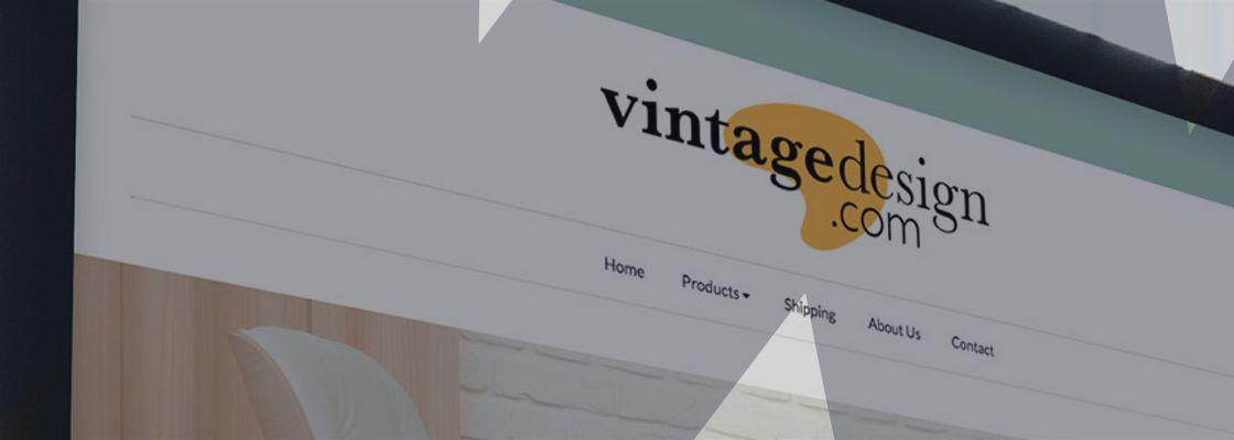 Design Branding Vintage Design Banner