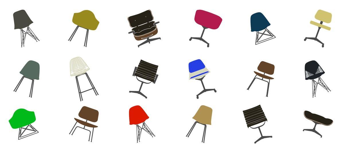 Eames Com Branding And Visual Identity 04 Illustrations